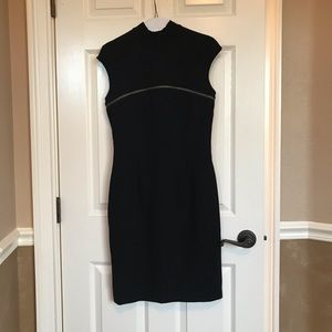 Andrew Marc New York LBD with Zipper Detail